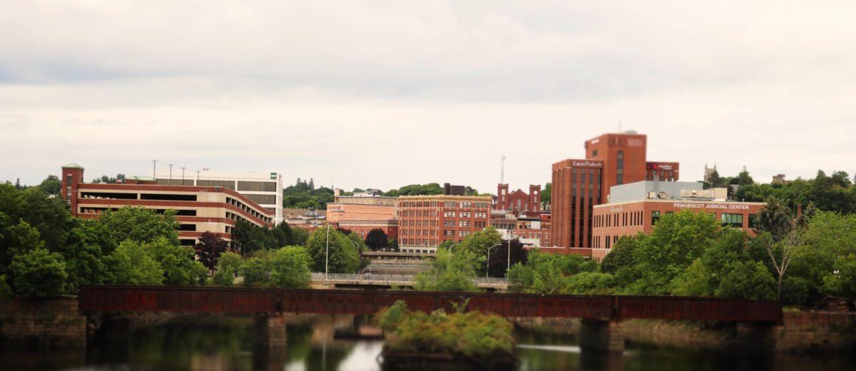 photo of downtown Bangor maine